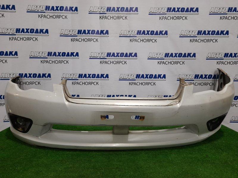 Бампер Subaru Legacy BP5 EJ20 2003 передний Передний, с противотуманками (114-20751), дорестайлинг.