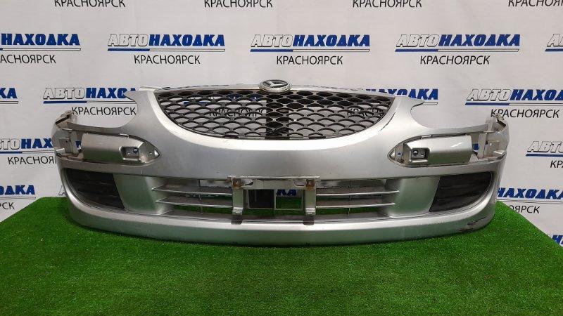 Бампер Daihatsu Storia M101S K3VE 2001 передний 52119-97409 передний, второй рестайлинг, с решеткой,