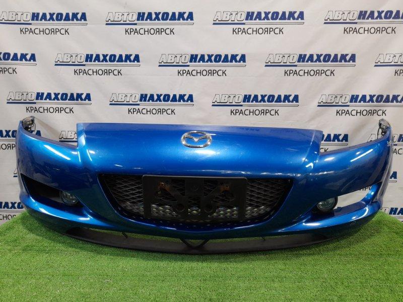Бампер Mazda Rx-8 SE3P 13B-MSP 2003 передний Передний, с противотуманками (114-61009), повторителями,