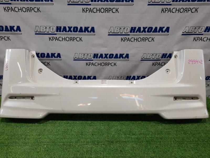 Бампер Daihatsu Tanto LA600S KF 2015 задний задний, рестайлинг, без катафот, пошоркан