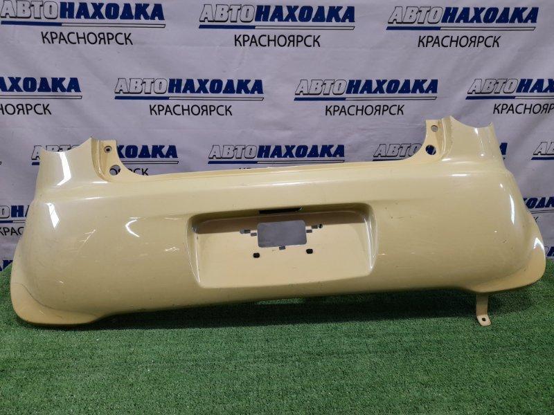 Бампер Daihatsu Move Latte L550S EF-VE 2004 задний Задний, пошоркан