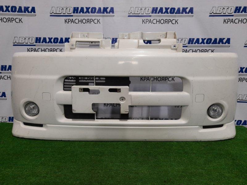 Бампер Daihatsu Tanto L350S EF-VE 2003 передний Передний, с туманками (114-51753), пошоркан