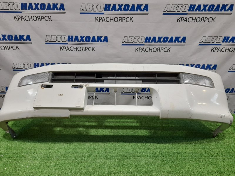 Бампер Daihatsu Hijet S200P EFSE 1999 передний С грузовичка, с повторителями, пошоркан.