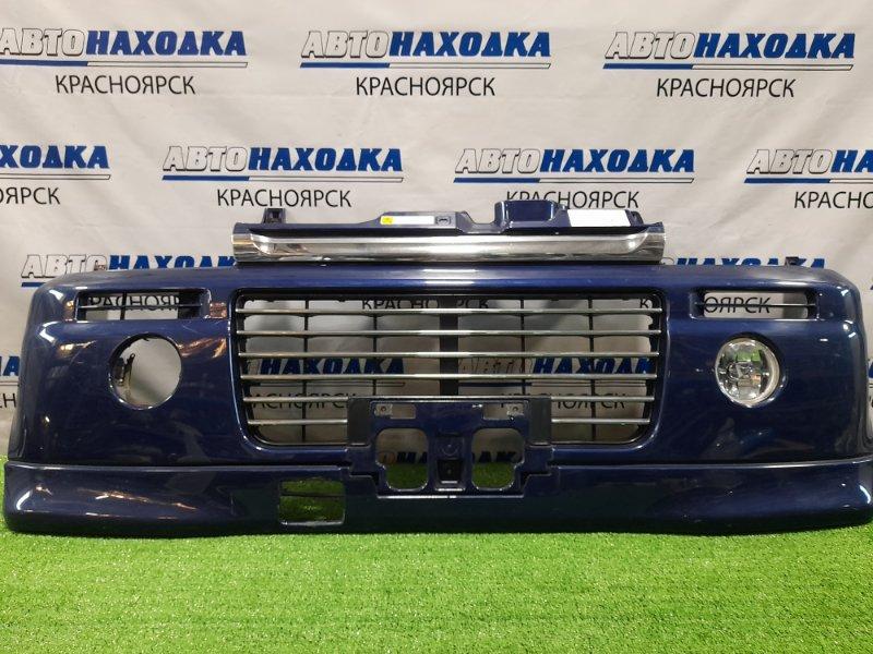 Бампер Suzuki Every DA52W 1999 передний Передний, с левой туманкой, без заглушки, потертости
