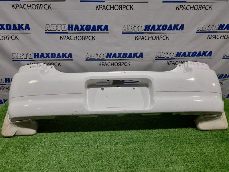 Бампер Suzuki Alto HA12S F6A 1998 задний Задний, пошоркан