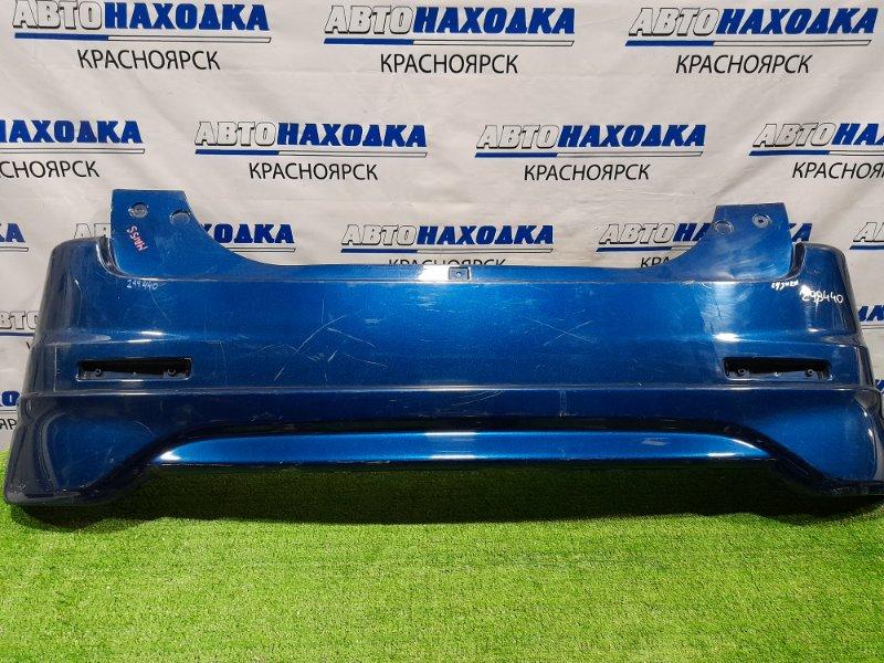 Бампер Suzuki Solio MA15S K12B 2010 задний задний, с губой, без катафот, пошоркан. Дорестайлинг.