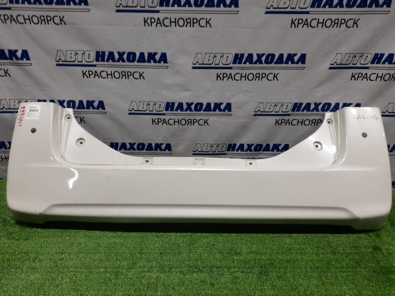 Бампер Daihatsu Tanto LA600S KF 2013 задний Задний, пошоркан, отверстия под парктроники