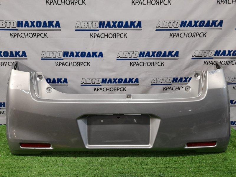 Бампер Mazda Flair MJ44S R06A 2014 задний Задний, рестайлинг, с катафотами. Пошоркан.