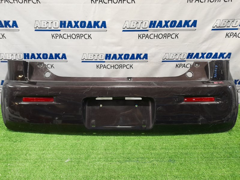 Бампер Suzuki Mr Wagon MF33S R06A 2011 задний Задний, пошоркан, есть мелкие надрывы.