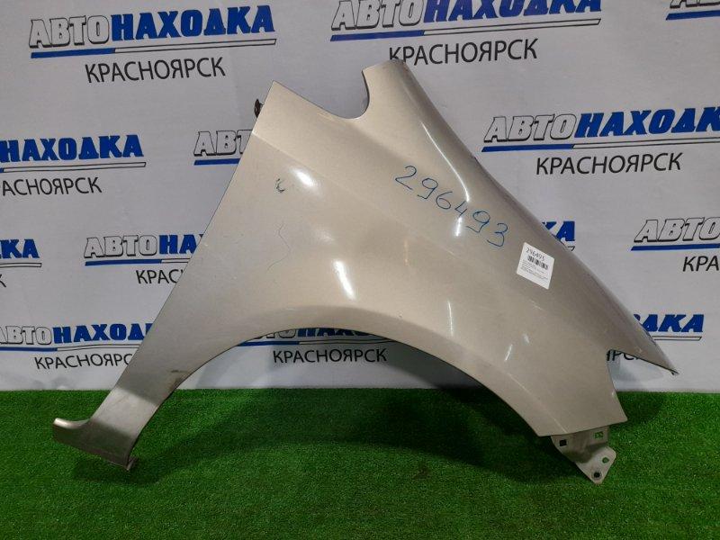 Крыло Honda Fit Aria GD8 L15A 2002 переднее правое переднее правое, дорестайлинг (не под
