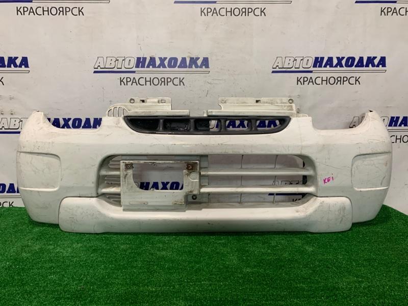 Бампер Suzuki Kei HN11S 1999 передний Передний, дефект одного крепления, пошоркан