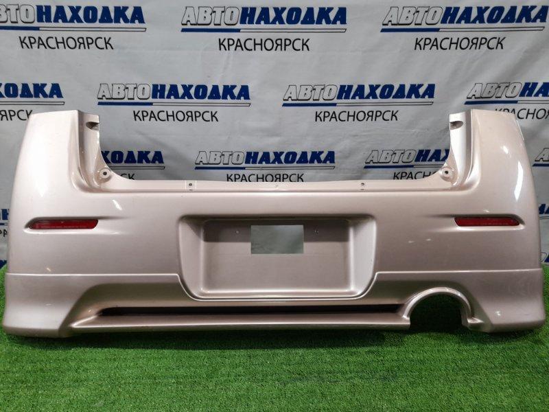 Бампер Daihatsu Max L950S EF-VE 2001 задний Задний, с катафотами и губой, шоркнут / Дорестайлинг.