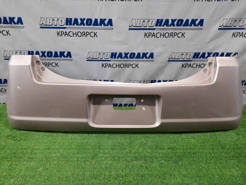 Бампер Daihatsu Move Conte L575S KF-VE 2008 задний задний, дорестайлинг, есть царапины