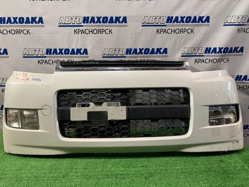 "Бампер Daihatsu Move L175S KF-VE 2006 передний комплектация ""CUSTOM"". / Передний, с туманками, решеткой,"