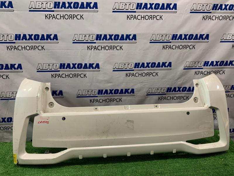 """Бампер Daihatsu Move LA150S KF 2014 задний задний, """"CUSTOM"""" немного надорван."""