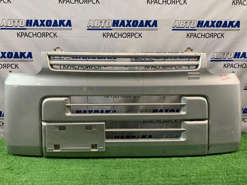 Бампер Suzuki Every DA17V R06A 2015 передний Передний, пошоркан.