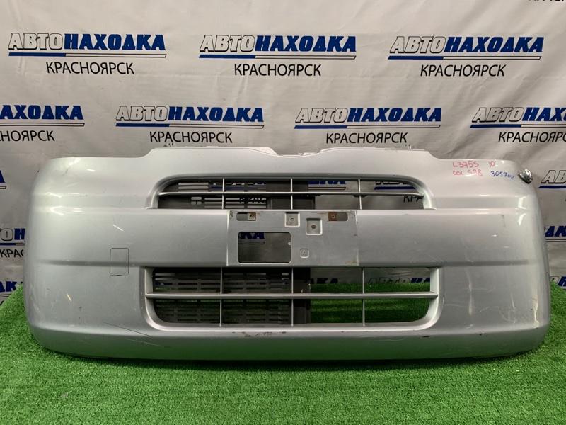 Бампер Daihatsu Tanto L375S KF 2007 передний передний, цвет S28, с антенной, пошоркан.