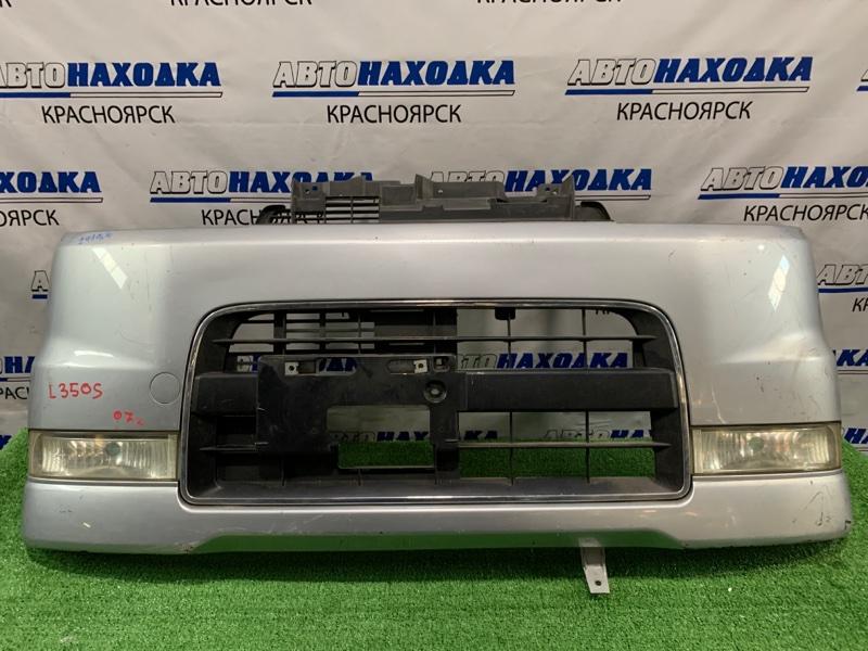 Бампер Daihatsu Tanto L350S EF-VE 2003 передний 114-51815 Передний, с туманками(114-51815), решеткой Custom L