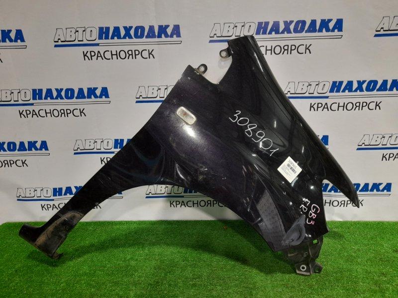 Крыло Honda Freed Spike GB3 L15A 2010 переднее правое переднее правое, фиолетовое, с повторителем,
