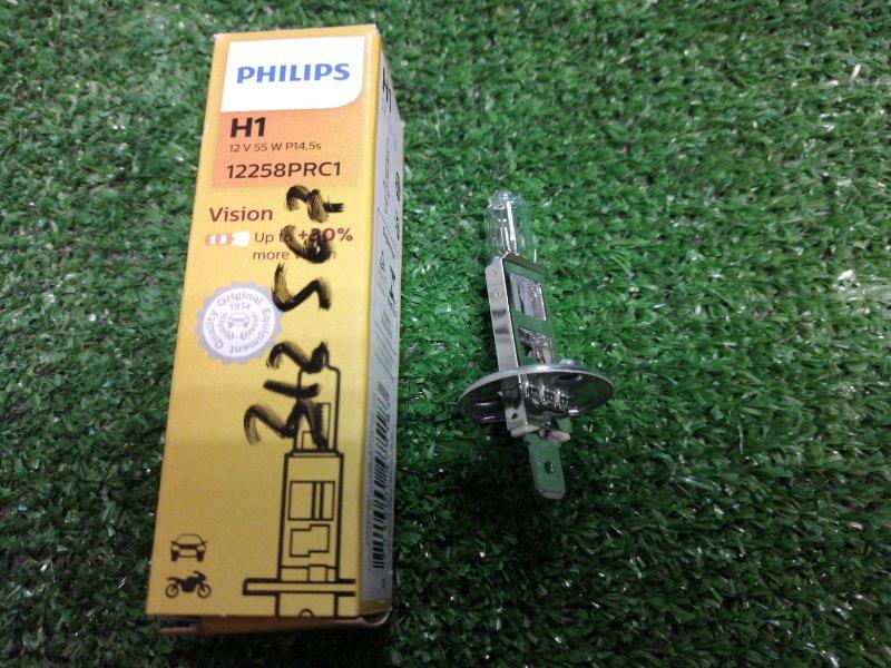 Лампа philips h1 55w p14.5 +30/ H1