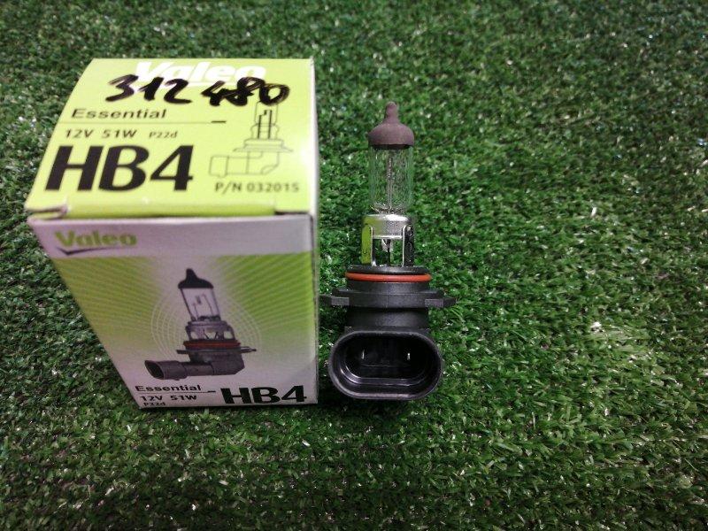 Лампа valeo hb4 12v 51w p22d
