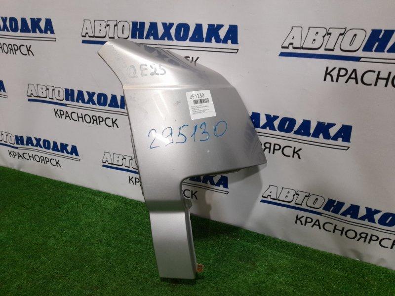Крыло Nissan Caravan QE25 KA24DE 2001 переднее правое 61260VX50A переднее правое, серебристое, небольшие
