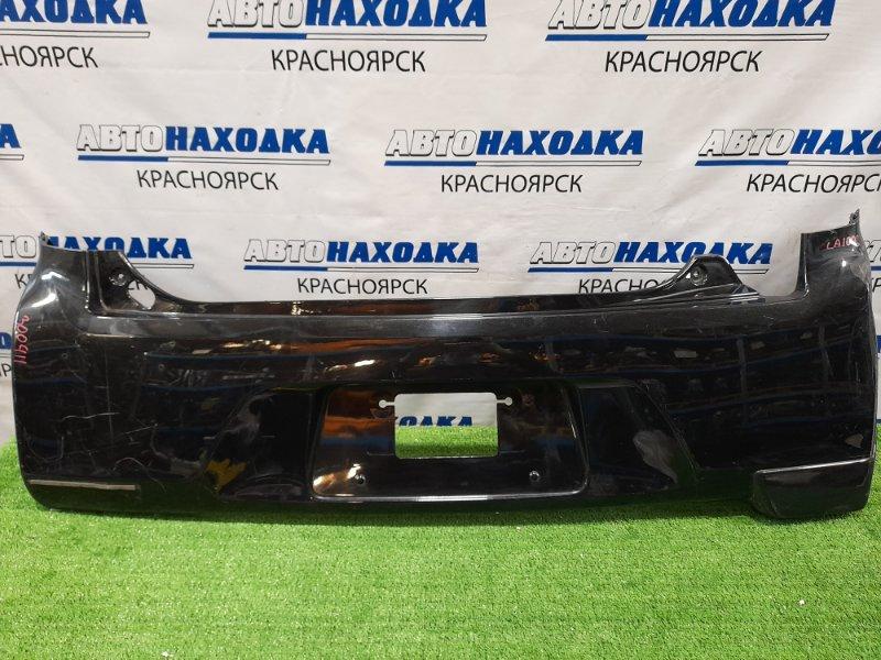 Бампер Daihatsu Move LA100S KF 2010 задний задний, пошоркан, нет левой накладки.