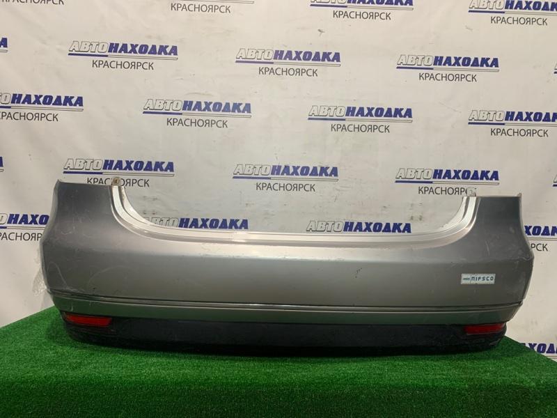 Бампер Nissan Bluebird Sylphy KG11 MR20DE 2005 задний 33-15001 Задний, с катафотами (33-15001), потертости до