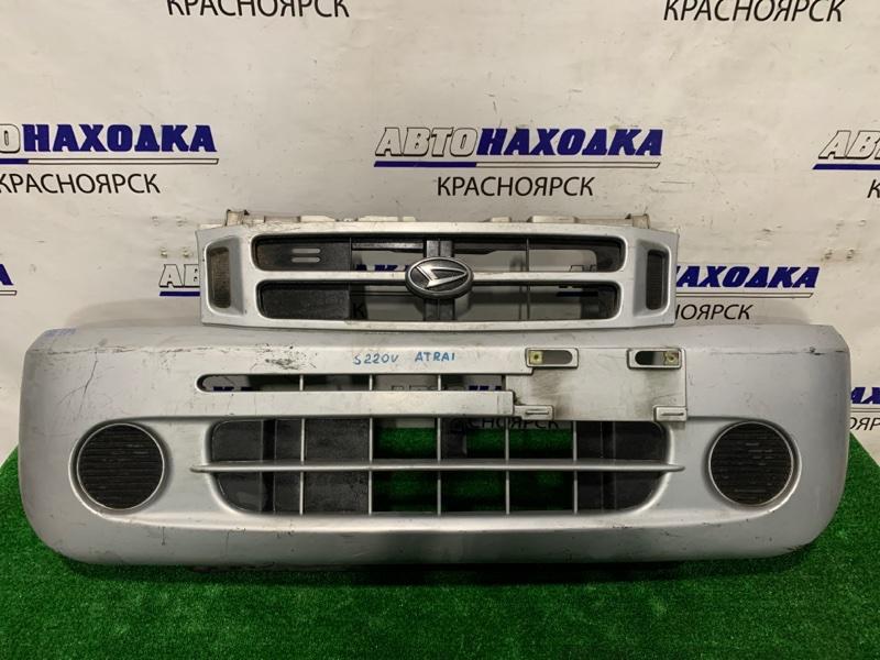 Бампер Daihatsu Atrai S220V EF-VE 1999 передний передний, с заглушками, пошоркан