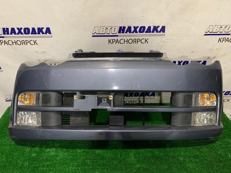 """Бампер Daihatsu Move L152S JB-DET 2002 передний Передний, дорестайлинг, комплектация """"CUSTOM""""с"""