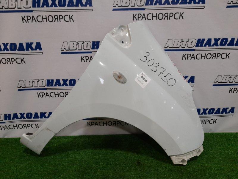 Крыло Suzuki Alto HA35S R06A 2009 переднее правое в целом ХТС, переднее правое, светло-голубое, с