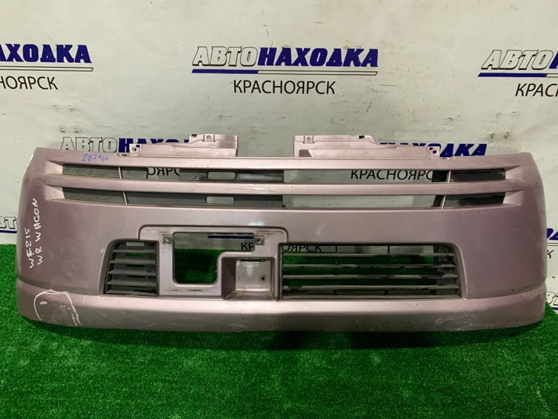 Бампер Suzuki Mr Wagon MF21S K6A 2001 передний Передний, надорван