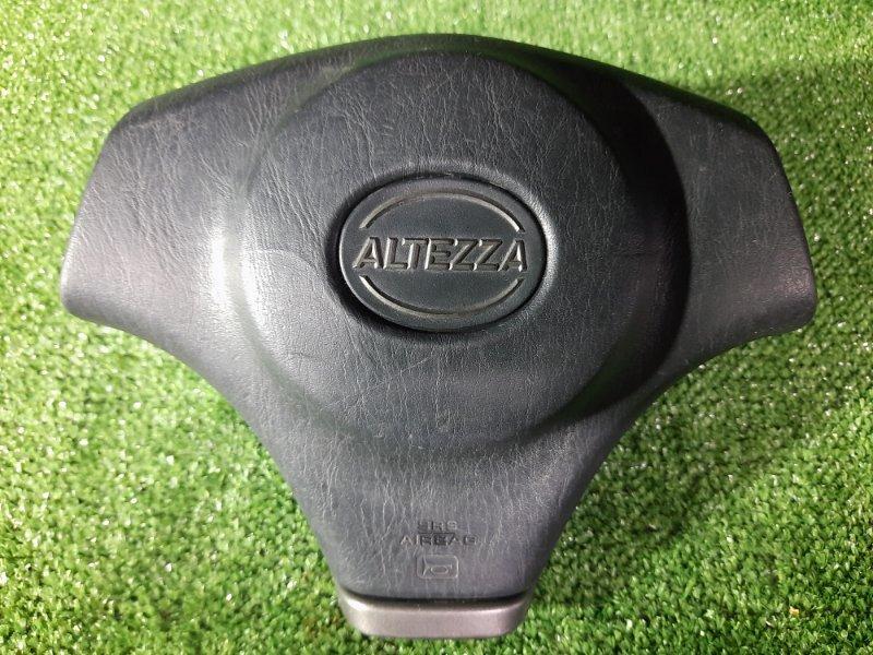 Airbag Toyota Altezza GXE10 1G-FE передний правый ЗАГЛУШКА В РУЛЬ. БЕЗ ПАТРОНА.