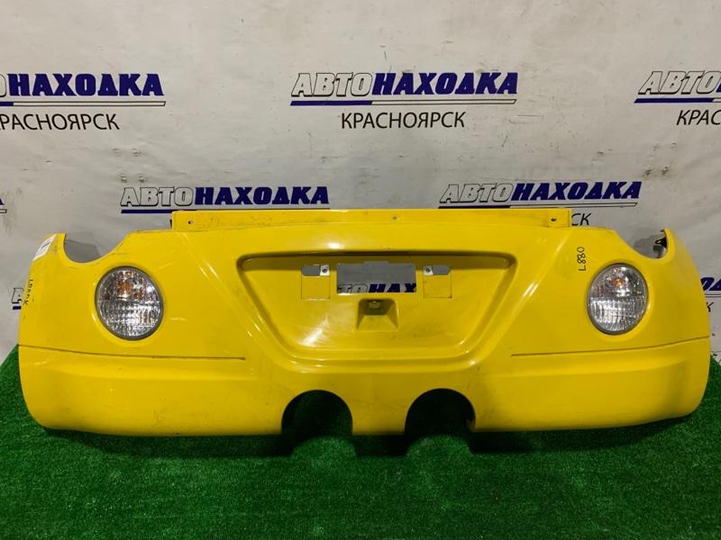 Бампер Daihatsu Copen L880K JB-DET 2002 задний Задний, с повторителями, пошоркан, дефект крепления,