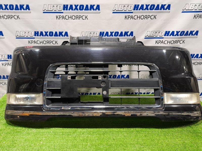 Бампер Daihatsu Tanto L350S EF-VE 2003 передний 52101-B2180 Передний, с туманками(114-51815), решеткой Custom VS,