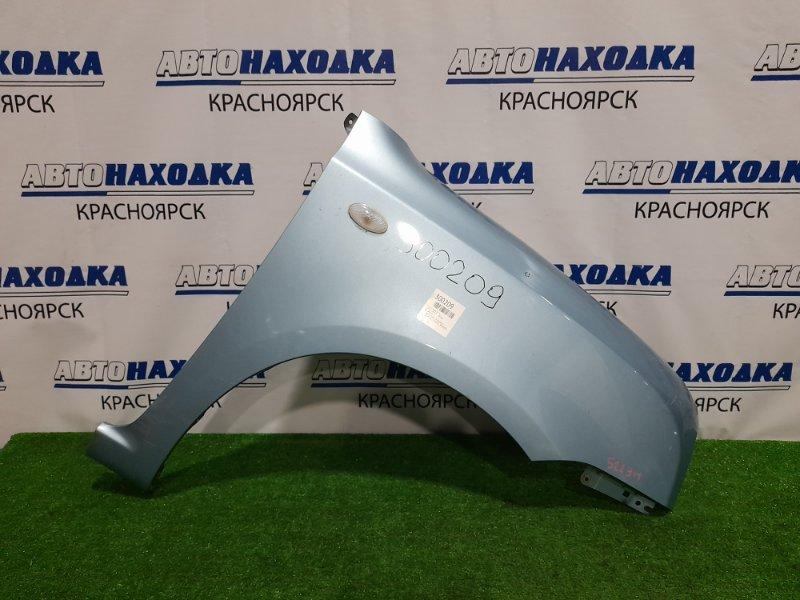 Крыло Suzuki Alto Lapin HE22S K6A 2008 переднее правое переднее правое, бирюзовое, с повторителем, с