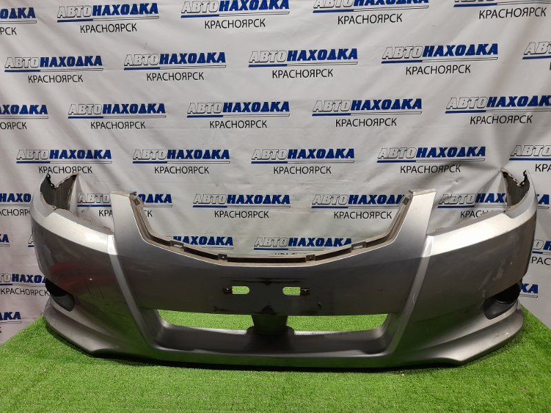 Бампер Subaru Legacy BM9 EJ25 2009 передний Передний, дорестайлинг, с заглушками. Пошоркан.