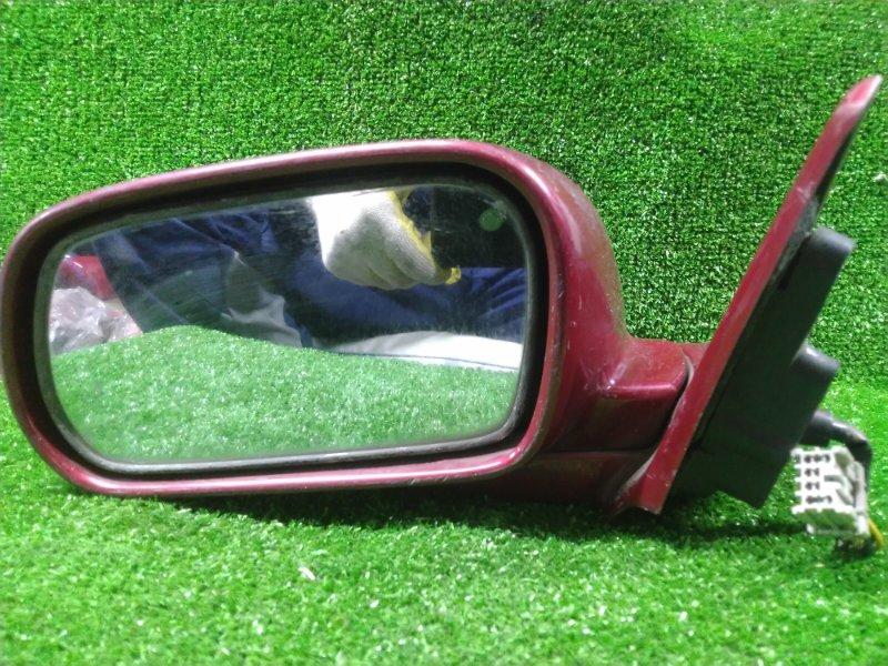 Зеркало Honda Ascot CB3 F18A переднее левое 011109 6 КОНТАКТОВ