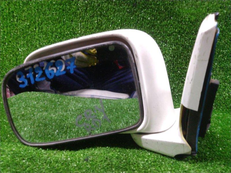 Зеркало Honda Cr-V RD1 B20B переднее левое ЗЕРКАЛЬНЫЙ ЭЛЕМЕНТ С МОТОРОМ НА СЛОМАННОМ КОРПУСЕ