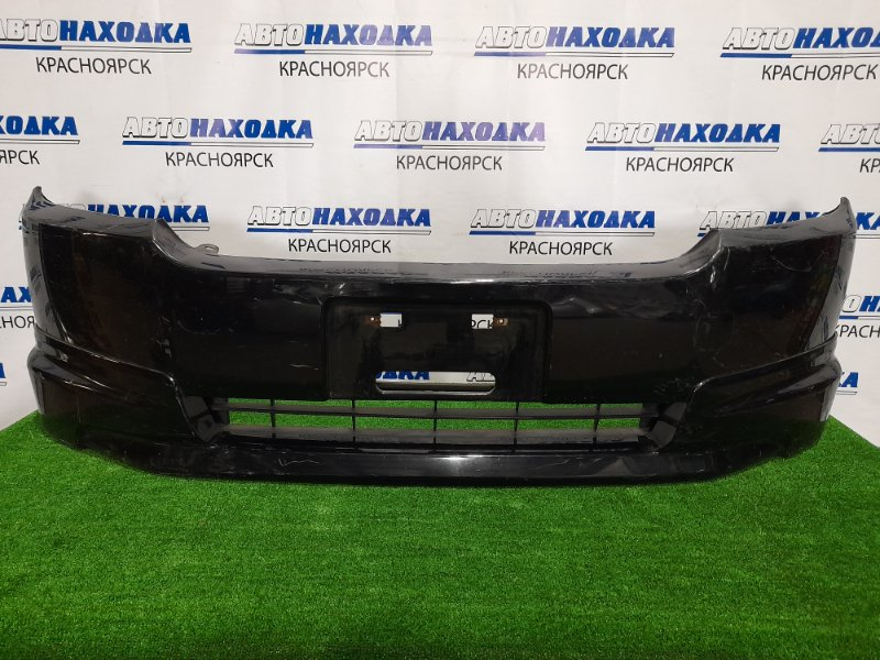 Бампер Honda Mobilio Spike GK1 L15A 2005 передний Передний, с губой, второй рестайлинг, надрыв