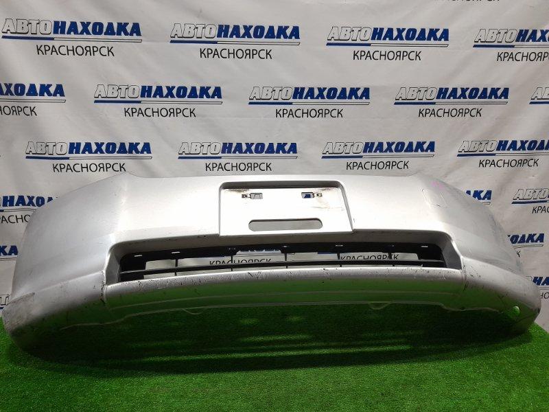 Бампер Honda Mobilio Spike GK1 L15A 2005 передний Передний, второй рестайлинг, пошоркан, до