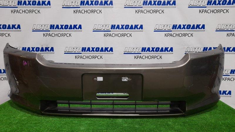 Бампер Honda Mobilio Spike GK1 L15A 2005 передний Передний, второй рестайлинг, пошоркан.