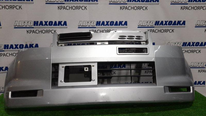 Бампер Mitsubishi Ek Wagon H81W 3G83 2001 передний передний, пошоркан