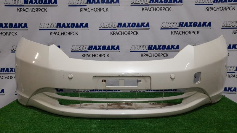 Бампер Honda Freed GB3 L15A 2008 передний передний, с парктрониками, дорестайлинг, без заглушки,