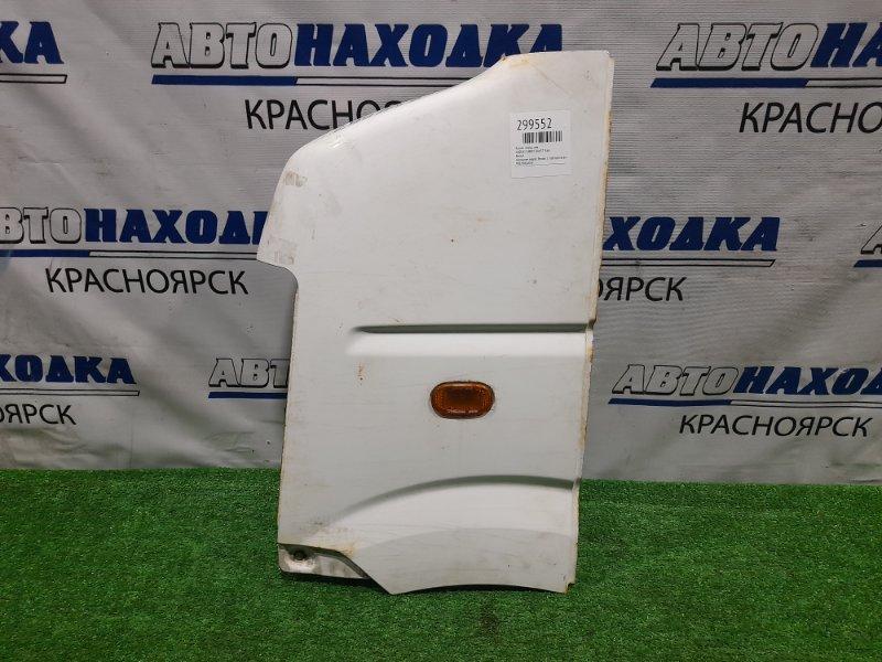 Крыло Suzuki Carry DA63T K6A 2002 переднее левое переднее левое, белое, с повторителем, под