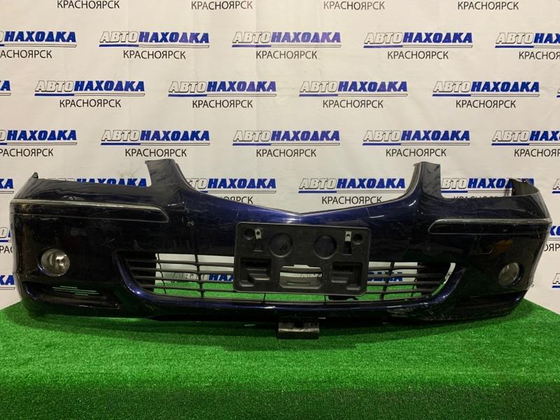 Бампер Honda Legend KB1 J35A 2004 передний Передний, с туманками, дорестайлинг, пошоркан.
