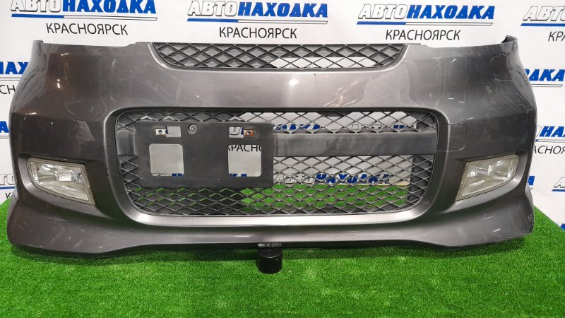 Бампер Honda Life JB5 P07A 2006 передний Передний, рестайлинг, с туманками, решеткой,
