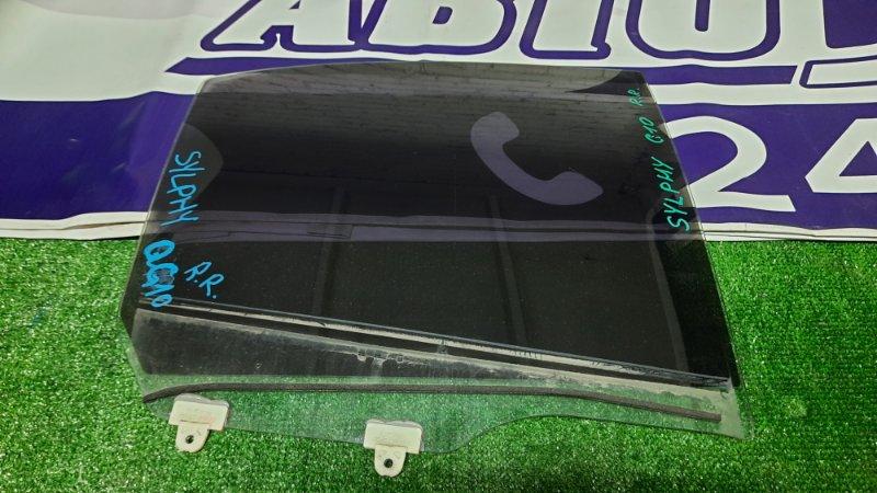 Стекло боковое Nissan Bluebird Sylphy G10 QG18DE заднее правое R.R.