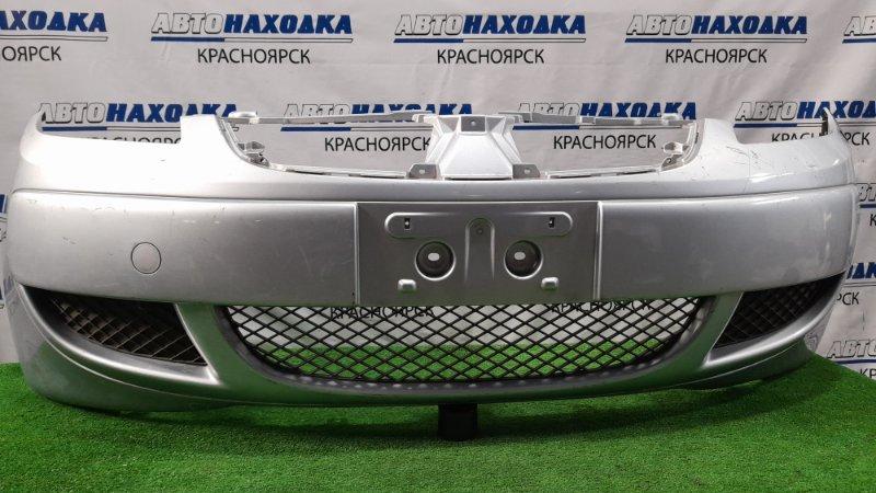 Бампер Mitsubishi Colt Z21A 4A90 2004 передний Передний, 1-й рестайлинг, без решетки, пошоркан, под