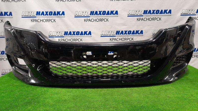 Бампер Honda Stream RN6 R18A 2009 передний Передний, рестайлинг, без правой заглушки, пошоркан,